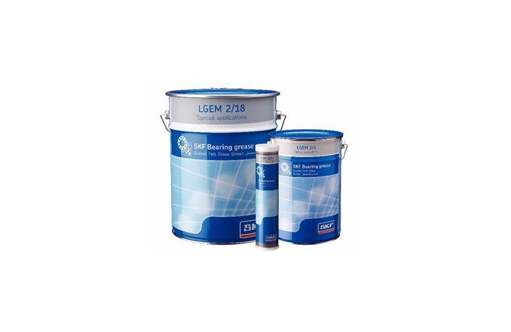 Graxa de Alta Viscosidade com Lubrificantes Sólidos LGEM 2/18 Balde 18 Kgs - SKF