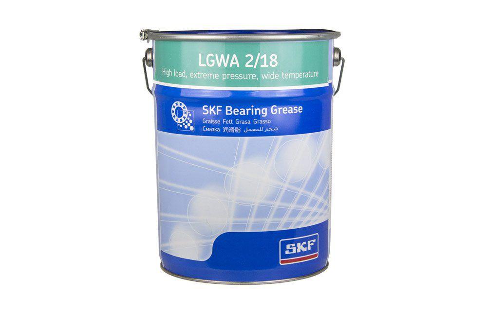 Graxa para Cargas Elevadas, Pressão Extrema e Ampla Faixa de Temperatura LGWA 2/18 Balde de 18 Kg -SKF