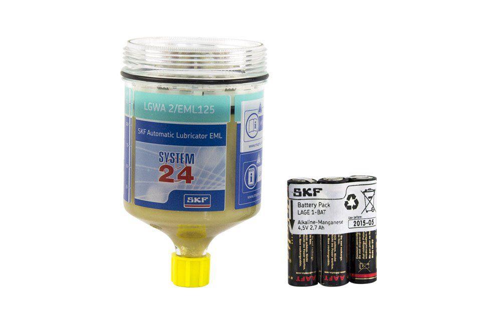 Refil para Lubrificador Automático com Graxa LGWA 2/EML125 com 125 gramas - SKF