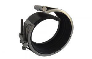 ABRACADEIRA STRAUB OPEN FLEX - 1L REPARO NBR/PVC 114.3 MM