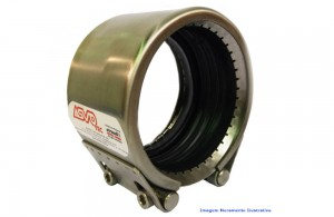 ACOPLAMENTO STRAUB METAL GRIP NBR/PVC 48.3 MM