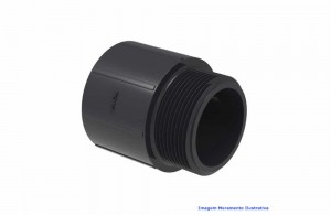 ADAPTADOR CURTO L/R PVC-U SCH80 TIGRE DN 1.1/4 NPT