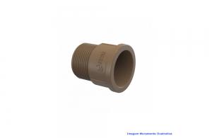 ADAPTADOR CURTO PVC SOLDA TIGRE DN 85 X 3 BSP