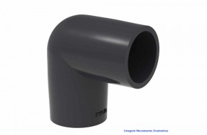 COTOVELO 90G PVC-U SCH80 SOLD TIGRE DN 2.1/2
