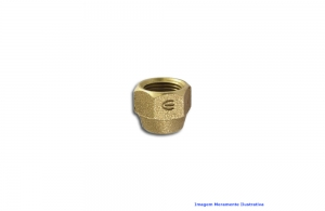 PORCA BRONZE ELUMA 301 DN 10 MM