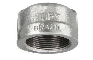 TAMPÃO A-197 GALVANIZADO 150LBS TUPY DN 1 NPT