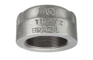 TAMPÃO A-197 GALVANIZADO 300LBS TUPY DN 1.1/2 NPT