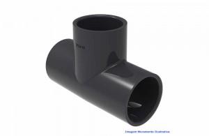 TÊ 90G PVC-U SCH80 SOLD TIGRE DN 2.1/2