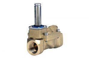 Válvulas solenoides de 2/2 vias com servo-operação ( EV220B )