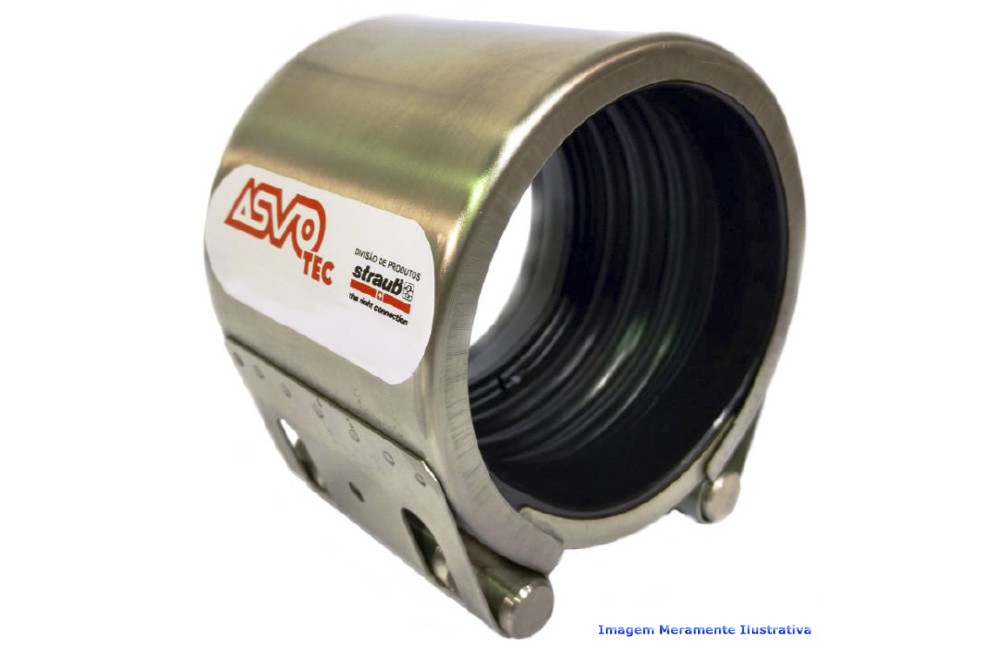 ACOPLAMENTO STRAUB FLEX - 1L NBR/PVC 48.3 MM