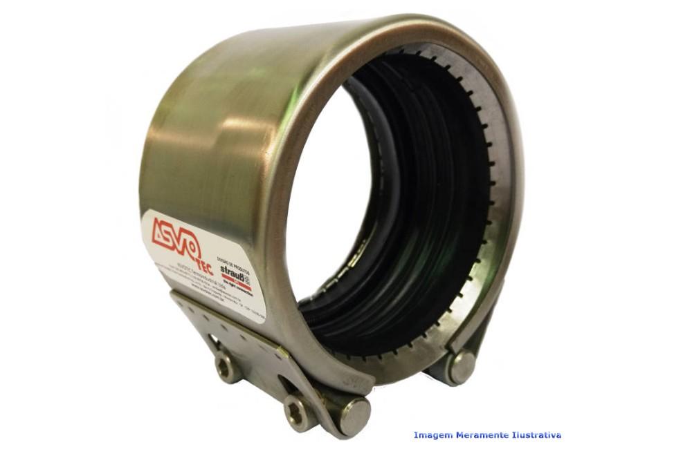 ACOPLAMENTO STRAUB METAL GRIP NBR/PVC 139.7 MM