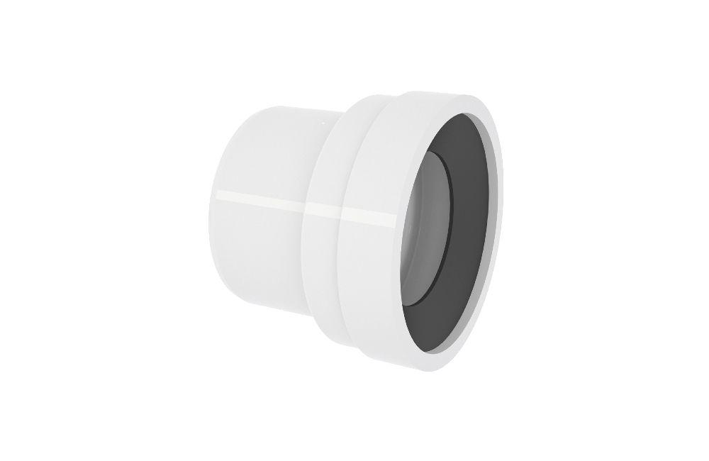 Adaptador para Saida de Vaso Sanitário - Esgoto - PVC
