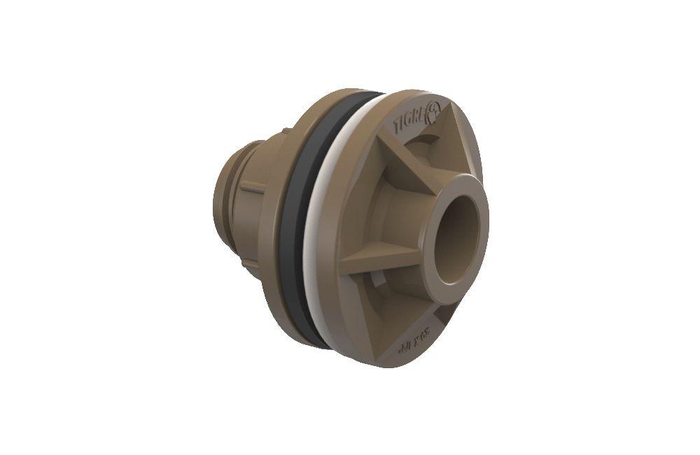 Adaptador Soldável com Anel - PVC