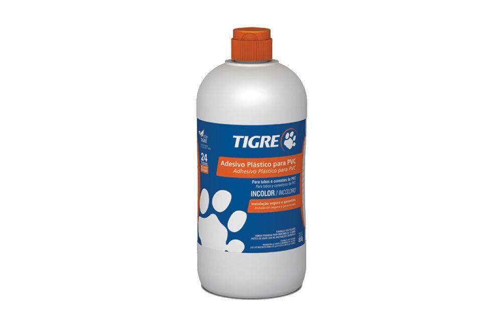 Adesivo Plástico para PVC - Frasco - Incolor