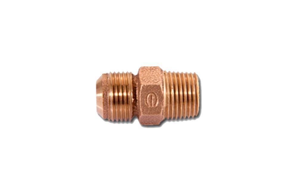 Conector Rosca Macho (RM) Flangeado de Cobre (304)