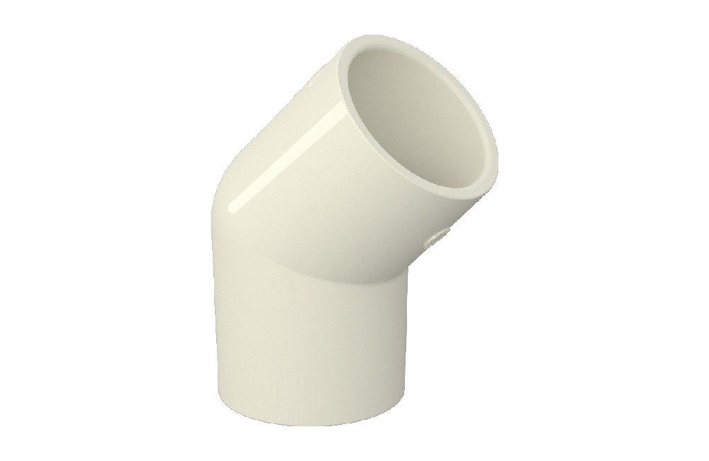 Cotovelo 45° - Aquatherm - PVC
