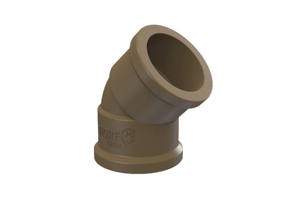 Cotovelo 45° Soldável - PVC