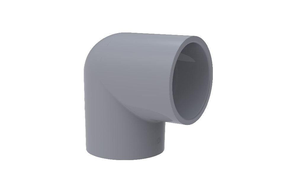 Cotovelo 90° - CPVC - PVC
