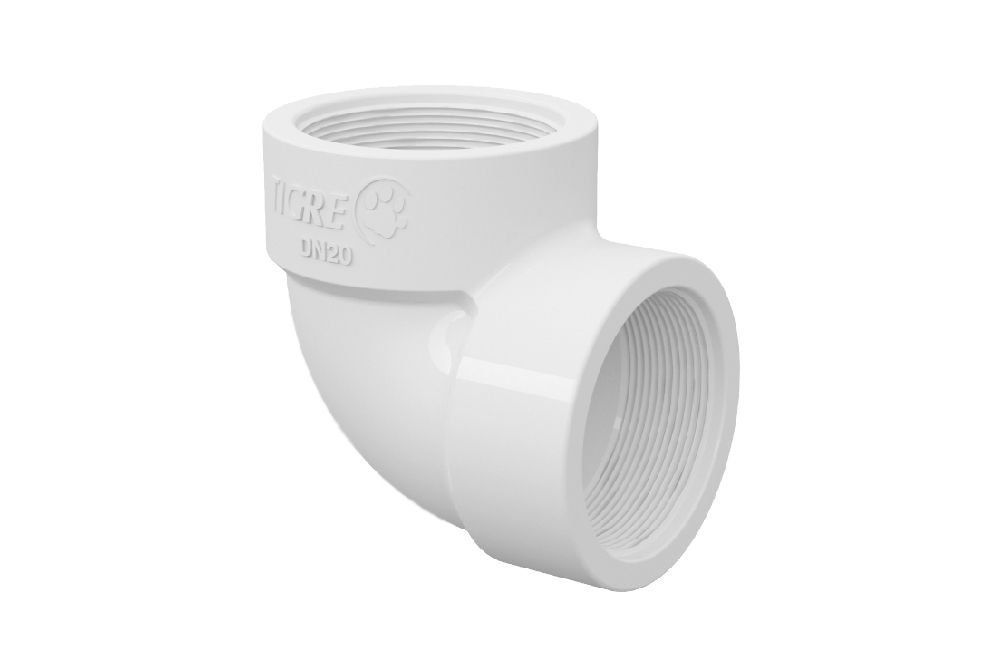Cotovelo 90° Roscável - PVC