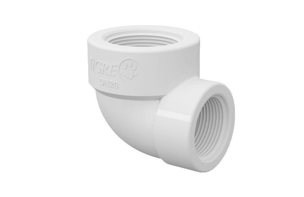 Cotovelo de Redução Roscável - PVC
