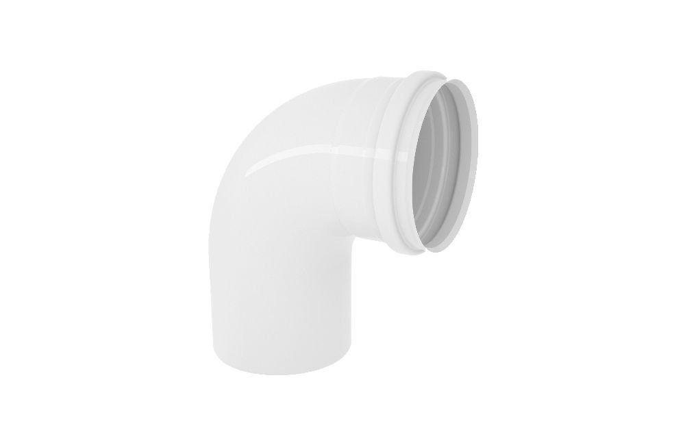 Curva 90° Curta - Esgoto - PVC