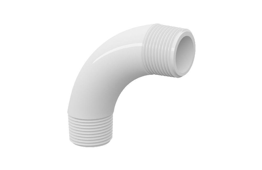 Curva 90° Roscável - PVC