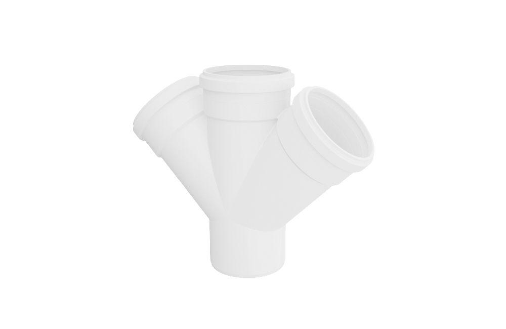 Junção Dupla - Esgoto - PVC