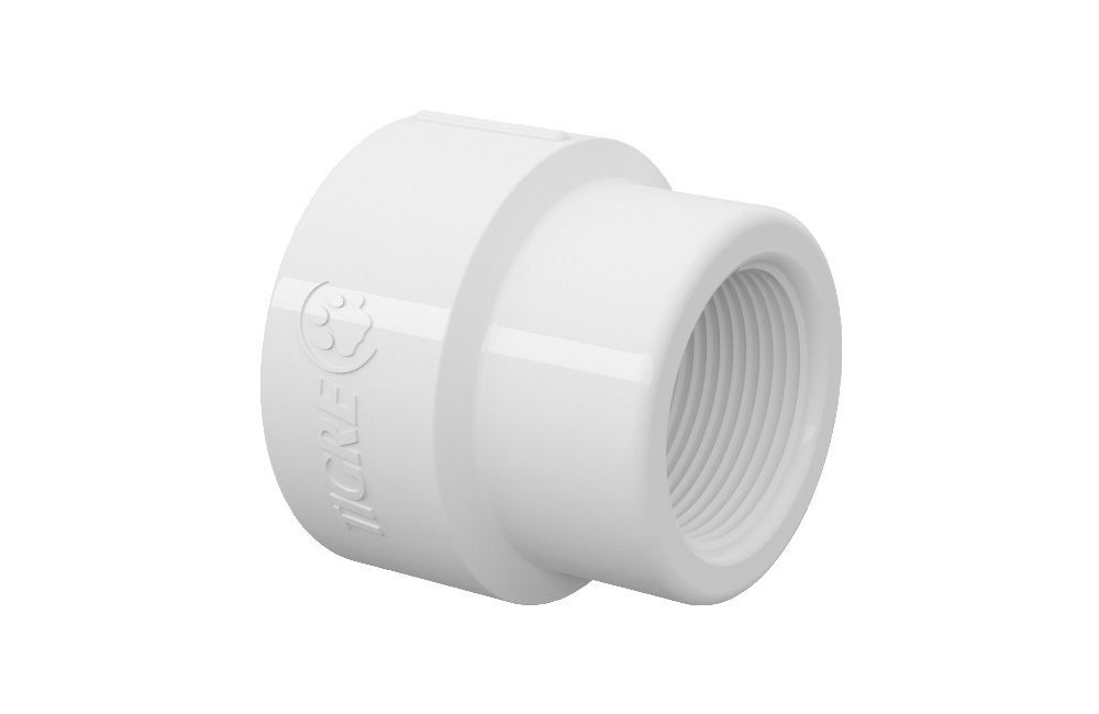Luva de Redução Roscável - PVC