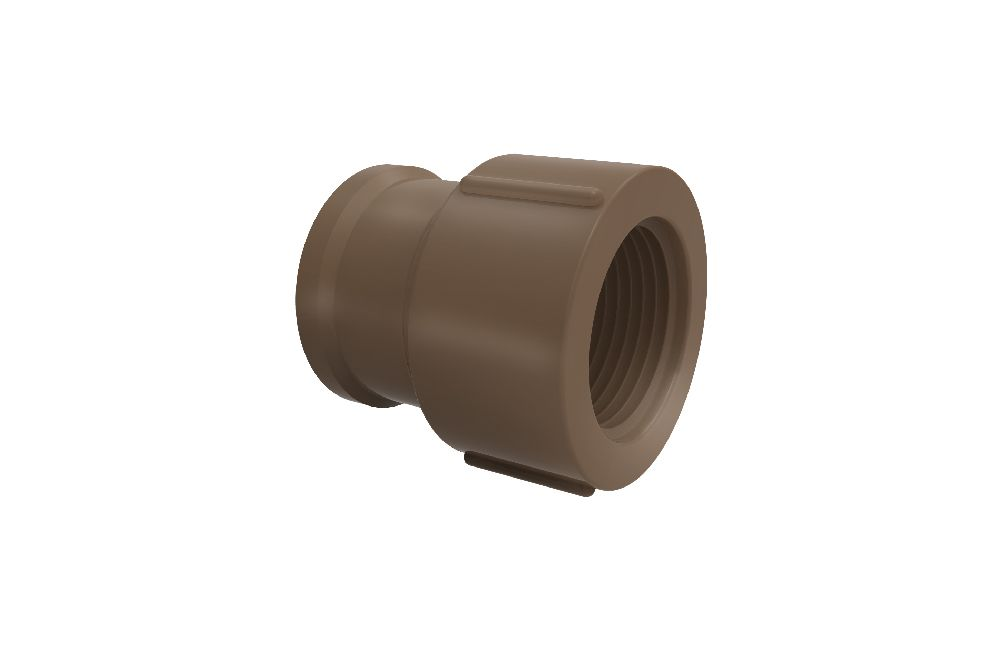 Luva Soldável com Rosca - PVC