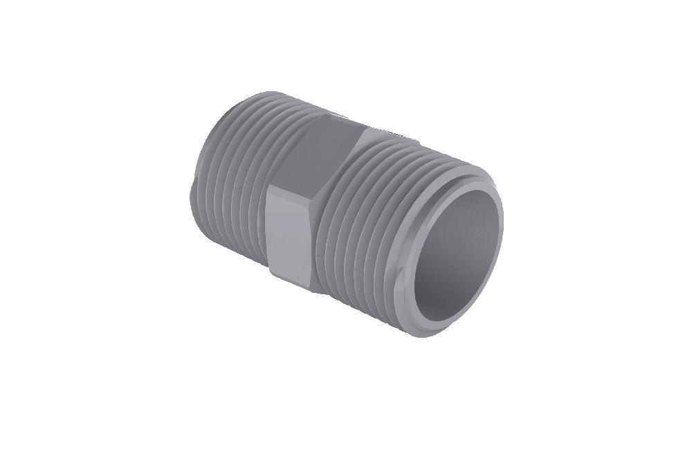 Niple Duplo - CPVC - PVC