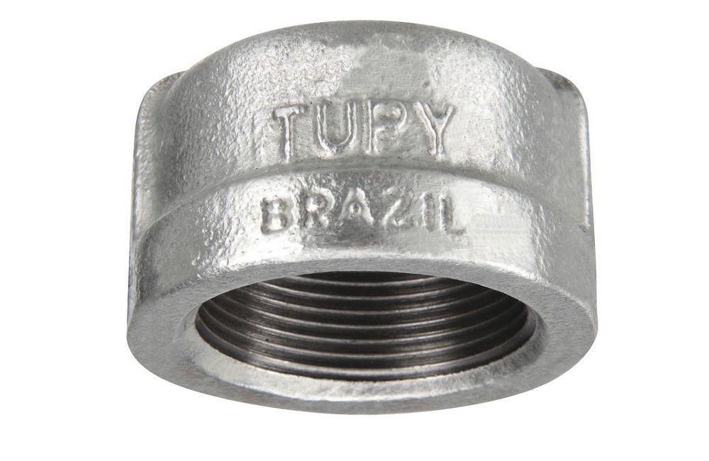 TAMPÃO A-197 GALVANIZADO 150LBS TUPY DN 1.1/4 NPT