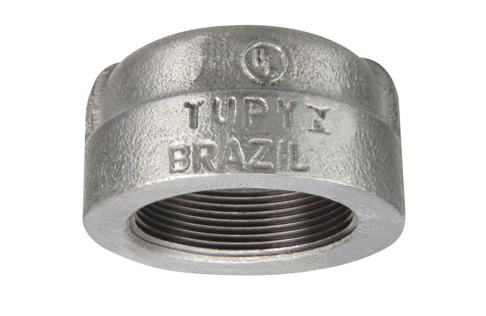 TAMPÃO A-197 GALVANIZADO 300LBS TUPY DN 1.1/4 NPT