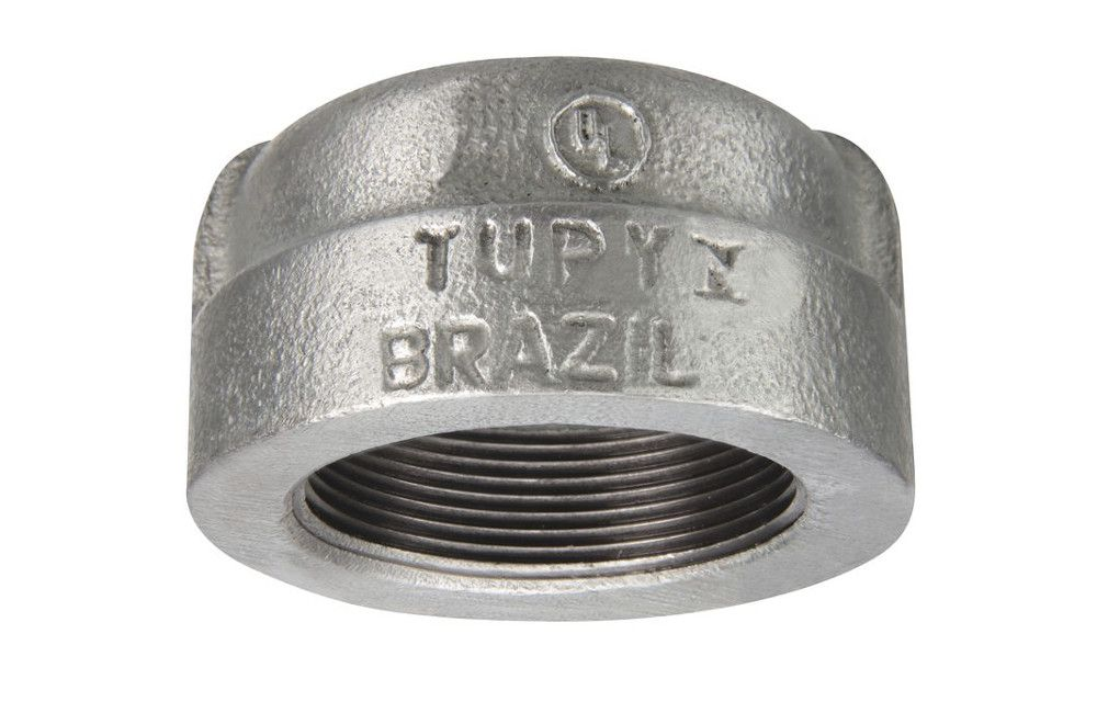 TAMPÃO A-197 GALVANIZADO 300LBS TUPY DN 3/4 NPT