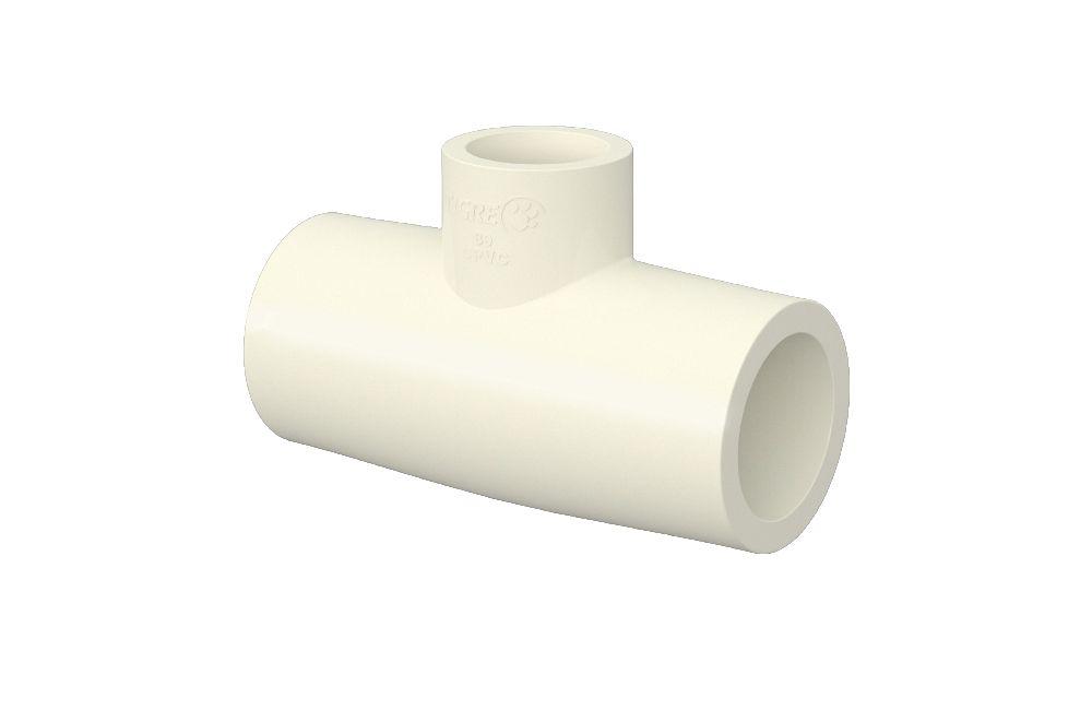 Te 90° de Redução - Aquatherm - PVC