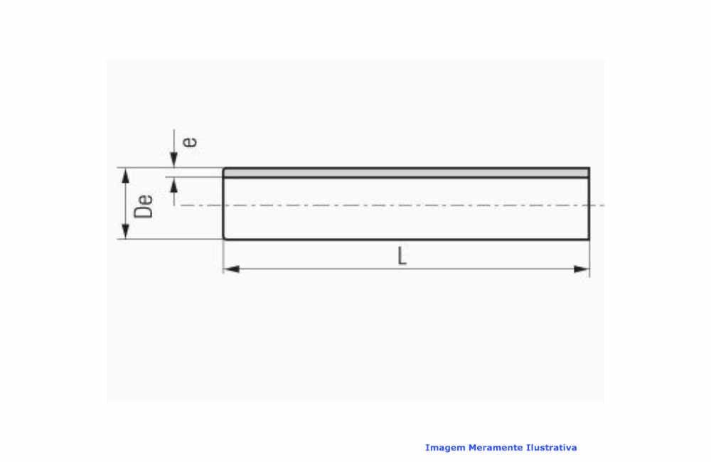 TUBO PPR INDUSTRIAL AZUL C/ 3 MT DN 32