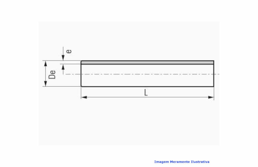 TUBO PPR INDUSTRIAL AZUL C/ 3 MT DN 40