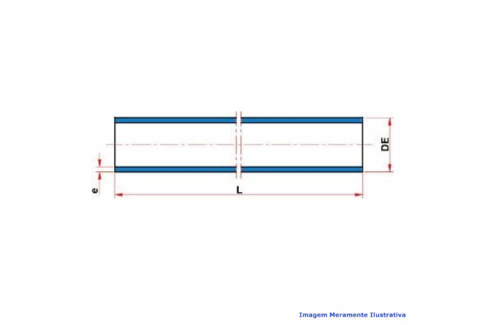 TUBO PVC-U INDUSTRIAL SCH80 SOLD TIGRE C/6 MT DN 1.1/4