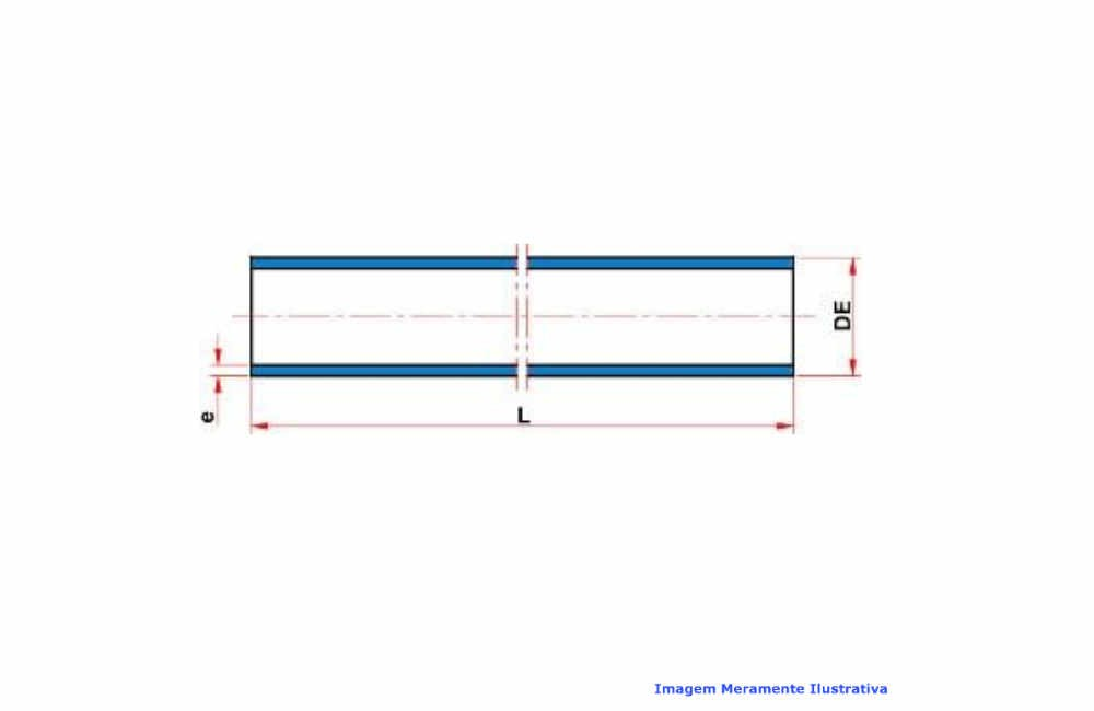 TUBO PVC-U INDUSTRIAL SCH80 SOLD TIGRE C/6 MT DN 3/4
