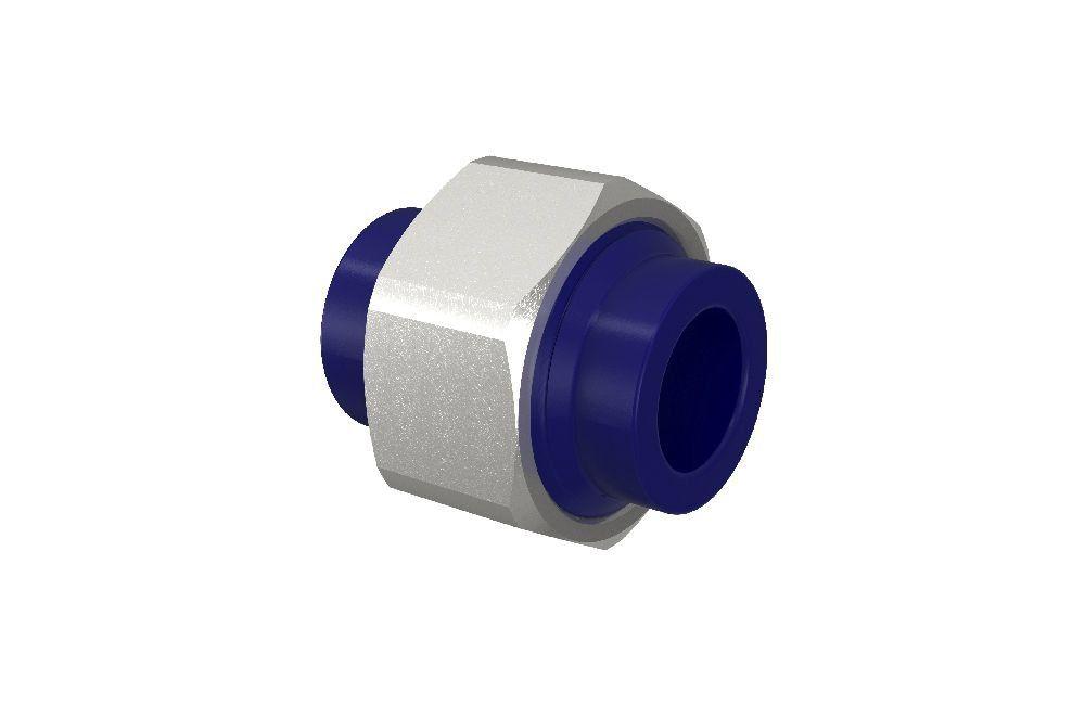 Uniao Dupla - PPR - PVC