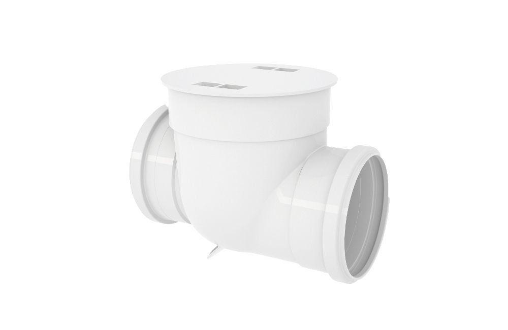 Válvula de Retenção - Esgoto - PVC