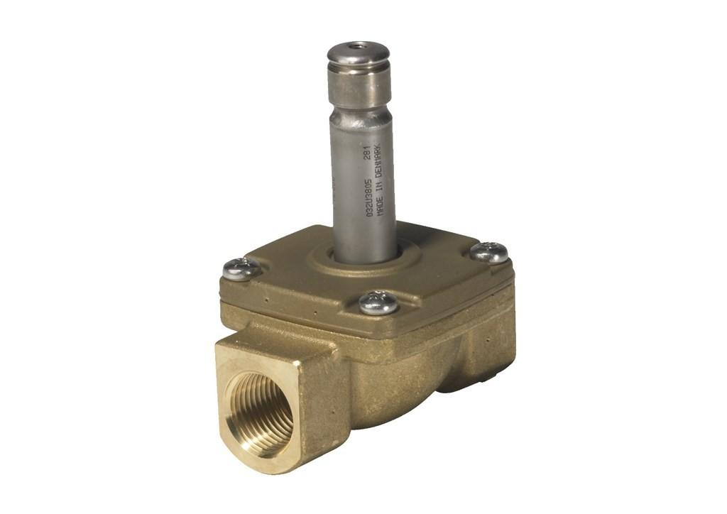 Válvulas solenoides de 2/2 vias com servo-operação para vapor ( EV225B )