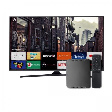 Android Tv Box Smart 4k 8gb Netflix Globoplay Usado
