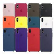 Capa Case Silicone Iphone X Apple Lacrada Original