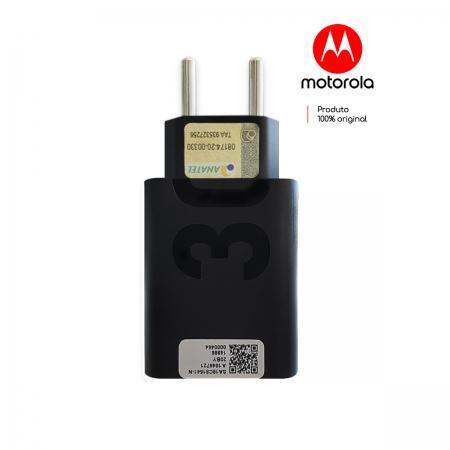 Carregador Base Fonte Turbo Power Motorola 30w Quick Charger