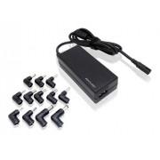 Carregador Notebook Universal 65w Automático 9 Conectores