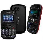 Celular Alcatel Ot639 Dual Chip Qwerty Wi-fi Rádio Fm Mp3