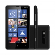 Celular Básico Nokia Lumia 820 8GB Tela 4.3' 8MP Wifi 4G (Open Box)