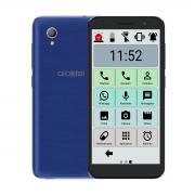 Celular Do Idoso Alcatel 16gb Tela 5 Ícones Grandes Sos Azul