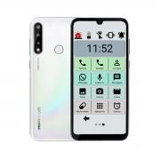 Celular Do Idoso Positivo Plus 128gb 4gb Ram Tela 6.1 Biometria Câmera Tripla 13mp Letras Grandes Sos