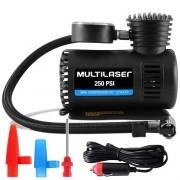 Compressor De Ar Automotivo 12V AU601 3 Adaptadores 250psi